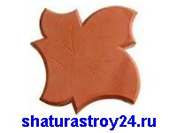 Тротуарная плитка Кленовый лист
