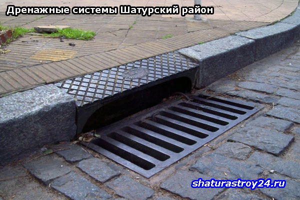 Дренажные системы: примеры в Шатурском районе
