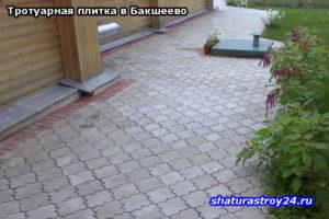 Тротуарная плитка в Бакшеево: укладка тротуарной плитки