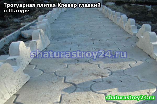 Клевер гладкий на пешеходной дорожке (дачный участок Шатурского района)