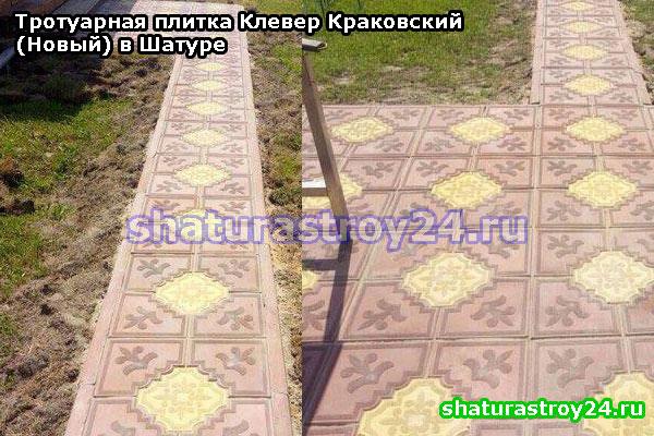 Клевер Краковский (Новый): пример укладки в Шатурском районе