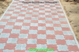 Укладка плитки тротуаной плитки Волна вибропресс в Васильевке