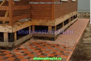 Примеры укладки брусчатки вибропресс в Егорьевске